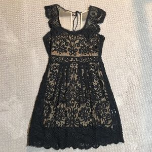 Anthropologie lace cocktail dress